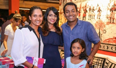 Imanthi Perera steps into the world of literature with the launch of 'Ink Theory' ( 07 photos )