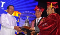 HE President Maithripala Sirisena honours SLIIT's class of 2016 as chief guest at convocation