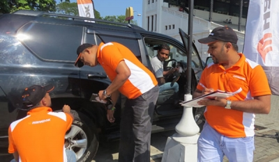"""Hankook Perfect Drive"" Tire Advisory Program by Douglas & Sons (Pvt) Ltd for The Third Successful Time"