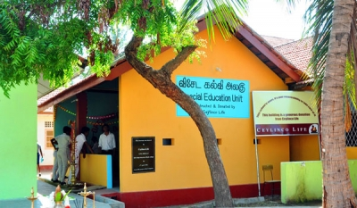 Ceylinco Life donates classroom for special-needs children in Mannar