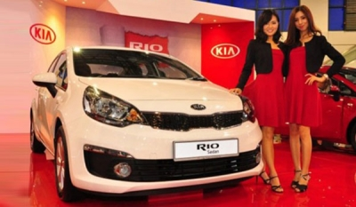 Kia's 2016 Rio Sedan Arrives in Sri Lanka ( Video )