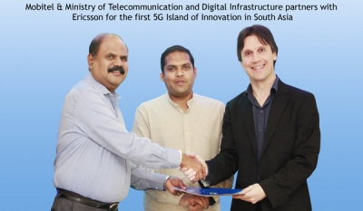 Mobitel & Ministry of Telecommunication and Digital Infrastructure partners with Ericsson for the first 5G Island of Innovation in South Asia