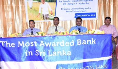 Commercial Bank engages in knowledge sharing with Kilinochchi farmers