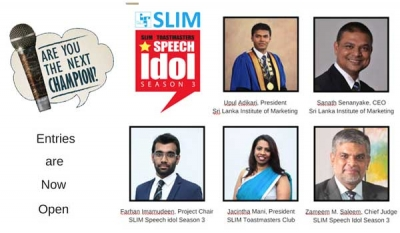 SLIM Speech Idol – The Ultimate Hunt for Public Speaking Talents in the Marketing Fraternity ( Video )