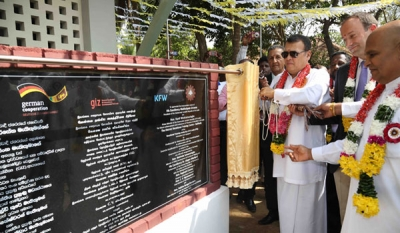 Vocational Training Centre opens in Kaithady with the support of the German Government
