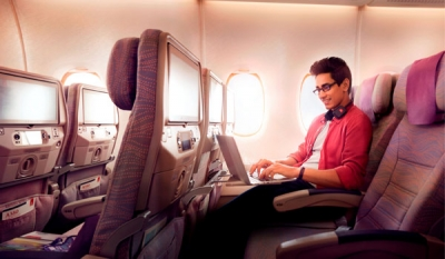 Emirates sets new record with over 1 million Wi-Fi connections on board in March