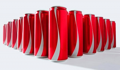 Coke has removed the logos from its packaging ( Video )