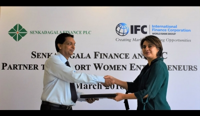 IFC Invests in Senkadagala Finance, in partnership with Goldman Sachs 10,000 Women, to Increase Access to Finance for Women Entrepreneurs