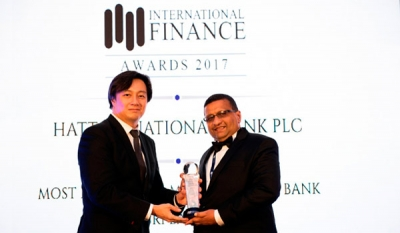 HNB recognized for innovation in microfinance at IFM Awards 2017