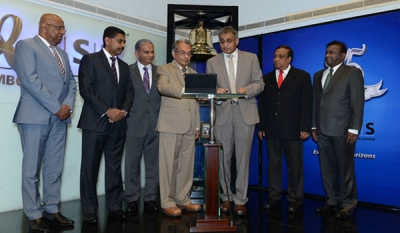 Ceylinco Insurance PLC Rings Opening Bell for October