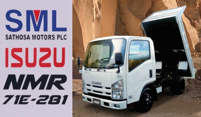 Sathosa Motors empowers businesses by launching high capacity Isuzu NMR Dump Truck