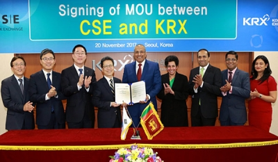 CSE and Korea Exchange agree to pursue mutual development