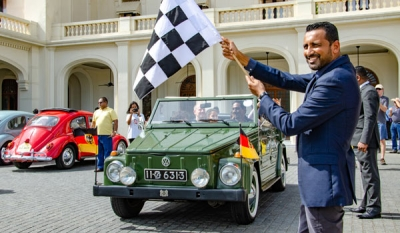 Galle Face Hotel hosts Beetle car rally in celebration of World Volkswagen Day 2018