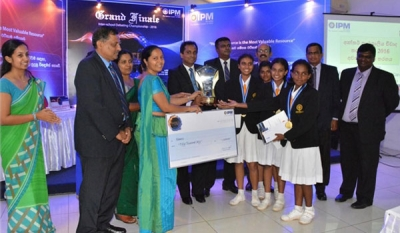 "IPM ""Battle of the Brains 2016"" CSR Initiative Prompts Much Enthusiasm"