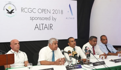 Altair sponsors RCGC Open Golf tournament for 2nd successive year