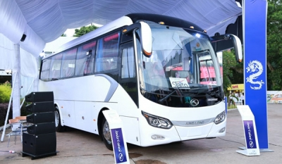 Softlogic's King Long launches medium-sized coach for tourism