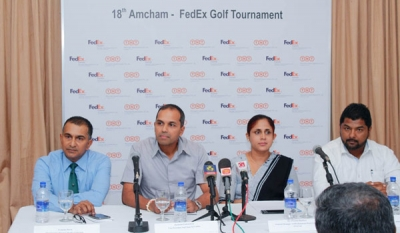 18th AmCham - FedEX Golf Tournament kicks off at Royal Colombo Golf Course