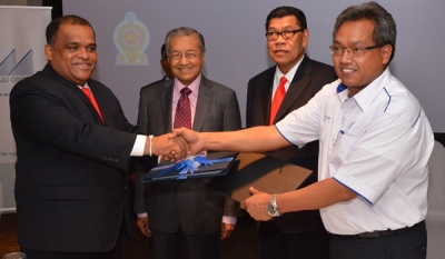 Joint Collaboration Between Malaysia & Sri Lanka on an Integrated Transportation HUB in Colombo