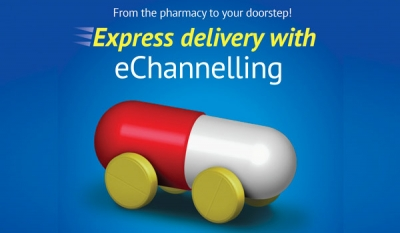 Get your medicine delivered to your doorstep with eChannelling