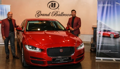 Regency Automobile showcases the Jaguar XE at The De Lanerolle Brothers concert