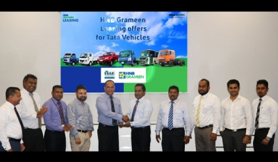 HNB Grameen Finance Limited signs MoU with DIMO to offer special, attractive leasing packages for Tata Vehicles & DIMO Agri Machinery
