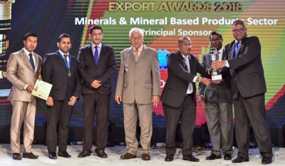 Royal Fernwood Porcelain Seals Silver at NCE Export Awards 2018