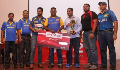 Glitz Cric Quiz - Sri Lanka's Most Popular Cricket Quiz back for its 5th Year