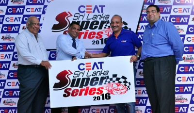 CEAT revs up support for motor racing with CEAT Sri Lanka Super Series