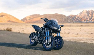 Yamaha's Radical New Three-Wheeled Sportbike (14 photos)