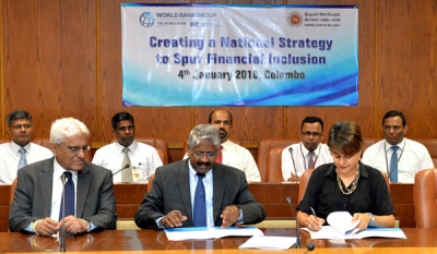 IFC, Central Bank Partner to Create a National Strategy to Spur Financial Inclusion in Sri Lanka