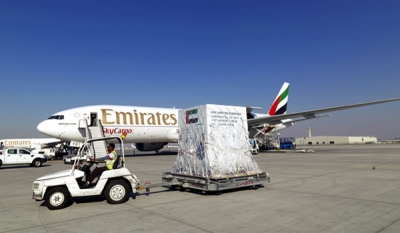 Emirates SkyCargo transports first space satellite manufactured in the UAE