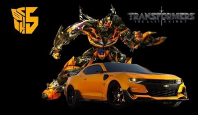 Michael Bay Reveals 2017 Bumblebee Camaro for Transformers 5