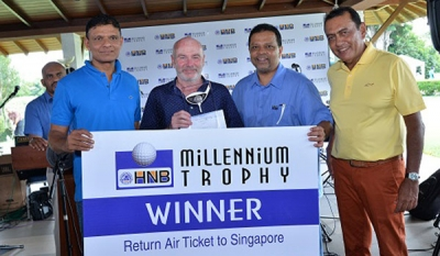 HNB Sponsors Millennium Trophy Golf Tournament for the 10th Consecutive year