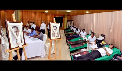 BMICH commemorates Founders with Eye and Blood Donation campaigns
