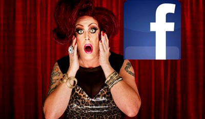 Facebook stands by real-name policy as drag queens protest