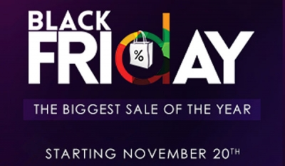 Daraz.lk announces Black Friday 2017 : The biggest sale of the year with up to 85% off on Electronics, Appliances and Fashion