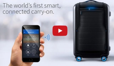 Bluesmart Unveils World's First Smart Suitcase