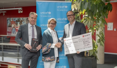 Würth Group makes donation to UNICEF