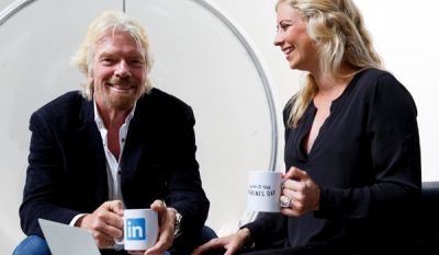 LinkedIn teams up with Richard Branson and daughter Holly for Bring In Your Parents Day 2014