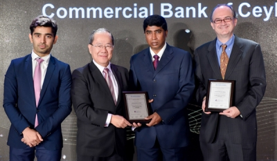 Combank wins two coveted titles at 'Asian Banker Transaction Awards'