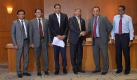 Bangladesh's State Minister of Finance visits HNB