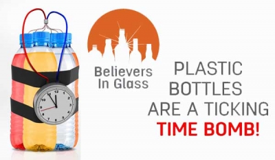 Believers in glass says No plastic is safe