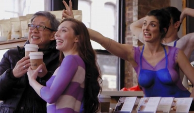 'Nude' Baristas Serve Up Coffee To Promote Nestlé's All-Natural Creamer ( Video )