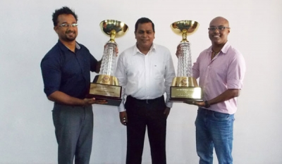 Chandima and Lakshika Awarded as Formula National Champions for 2015