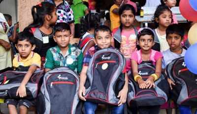7,600 children receive gifts of stationery and school bags from Brandix