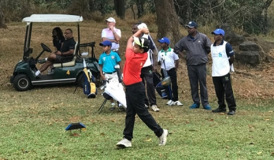 Vinod, Taniya, Dhuwarshan, Nirekh & Reshan Top Junior Golf Rankings 2017 as at October