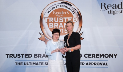 DHL Voted Asia's Most Trusted BrandFor Seventh Time