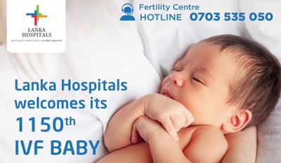 Lanka Hospitals delivers 1150th IVF baby