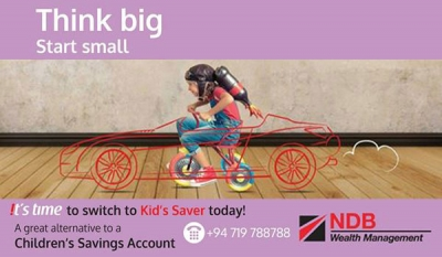 Think big, start small with NDB Wealth Kid's Saver plans