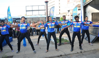 "Mobitel brings the groove back to the mega cricket event through ""Hadawathinma Sri Lankikai"""